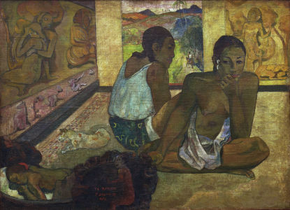 Picture no: 30000664 P.Gauguin, Der Traum Created by: Gauguin, Paul