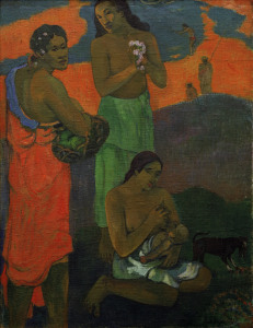 Picture no: 30000668 P.Gauguin, Frauen am Meeresufer Created by: Gauguin, Paul
