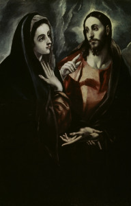 Picture no: 30000820 El Greco / Christ bids farewell to Mary Created by: Greco, El (Domenikos Theotokopoulos)