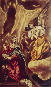 Picture no: 30000822 El Greco / Annunciation to Mary Created by: Greco, El (Domenikos Theotokopoulos)