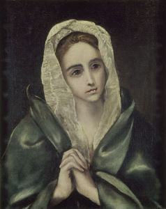 Picture no: 30000880 El Greco / Mater dolerosa / dated 1585? Created by: Greco, El (Domenikos Theotokopoulos)
