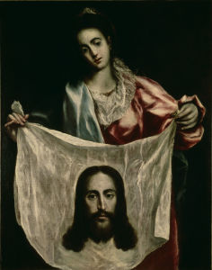 Picture no: 30000882 El Greco / St. Veronica Created by: Greco, El (Domenikos Theotokopoulos)