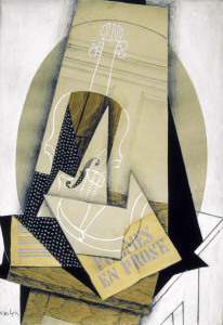 Picture no: 30000910 J.Gris / Composition with Violine / 1915 Created by: Gris, Juan
