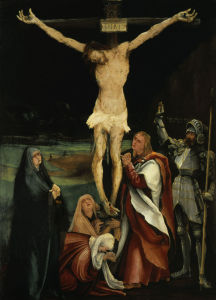 Picture no: 30000942 Gruenewald / Crucifixion / 1501 Created by: Grünewald, Mathis Gothart