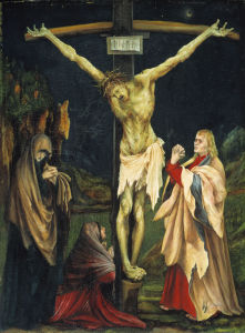 Picture no: 30000944 Small Crucifixion / Grünewald/ c.1519/20 Created by: Grünewald, Mathis Gothart