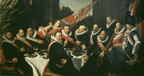 Picture no: 30001010 Frans Hals / Feast of Officers / 1616 Created by: Hals, Frans