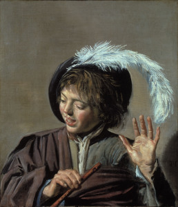 Picture no: 30001014 Frans Hals / Singing Boy / c. 1623/25 Created by: Hals, Frans