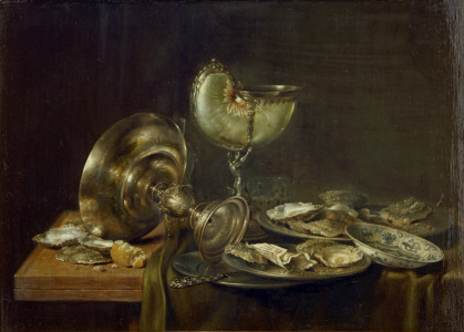 Picture no: 30001026 Heda /Still-life with Nautilus Cup /1649 Created by: Heda, Willem Claesz