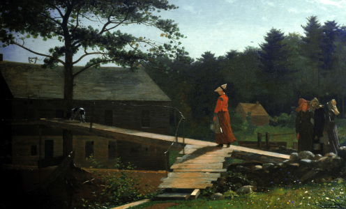 Picture no: 30001054 Winslow Homer / Morning Bells / c.1866 Created by: Homer, Winslow