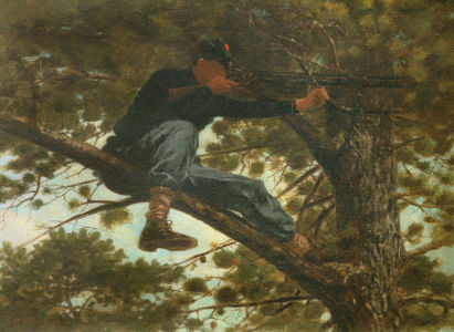 Picture no: 30001056 Winslow Homer / Sharpshooter / 1863 Created by: Homer, Winslow