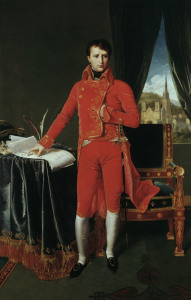 Picture no: 30001116 Napoleon I / Ingres / 1804 Created by: Ingres, Jean-Auguste-Dominique