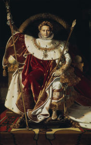 Picture no: 30001118 Napoleon I Bonaparte / Ingres / c.1806 Created by: Ingres, Jean-Auguste-Dominique