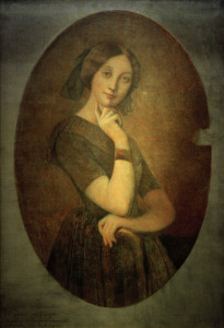 Picture no: 30001122 Louise de Broglie / Porträt v.Ingres Created by: Ingres, Jean-Auguste-Dominique