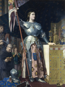 Picture no: 30001124 Jeanne d'Arc / Ingres / 1854 Created by: Ingres, Jean-Auguste-Dominique