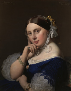 Picture no: 30001130 Ingres / Madame Ingres / Painting / 1859 Created by: Ingres, Jean-Auguste-Dominique