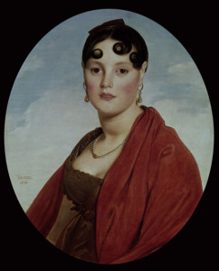 Picture no: 30001166 J.A.D.Ingres, Madame Aymon Created by: Ingres, Jean-Auguste-Dominique