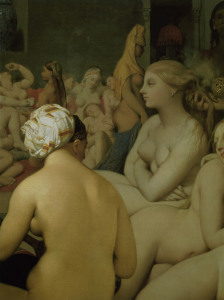 Picture no: 30001182 Ingres / Turkish Bath / Detail / 1862  n Created by: Ingres, Jean-Auguste-Dominique