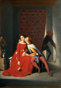 Picture no: 30001194 Ingres / Paolo and Francesca / 1850 Created by: Ingres, Jean-Auguste-Dominique