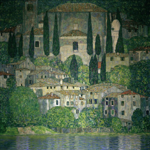 Picture no: 30001210 Gustav Klimt, Kirche in Cassone Created by: Klimt, Gustav