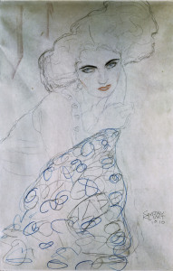 Picture no: 30001268 G.Klimt/ Study for Portrait of Lady/1910 Created by: Klimt, Gustav