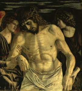 Picture no: 30001330 Dead Christ & Two Angels / Bellini Created by: Bellini, Giovanni