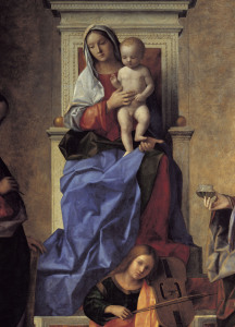 Picture no: 30001362 Giovanni Bellini, Madonna S.Zaccaria Created by: Bellini, Giovanni