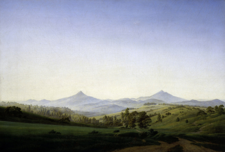 Picture no: 30001566 Friedrich / Bohemian landscape / 1808 Created by: Friedrich, Caspar David