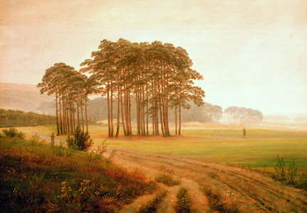 Picture no: 30001580 Friedrich / Noon / c.1822 Created by: Friedrich, Caspar David