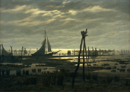 Picture no: 30001592 C.D.Friedrich, Sumpfiger Strand Created by: Friedrich, Caspar David
