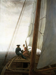 Picture no: 30001596 C.D.Friedrich, On the Sailing ship/1818 Created by: Friedrich, Caspar David