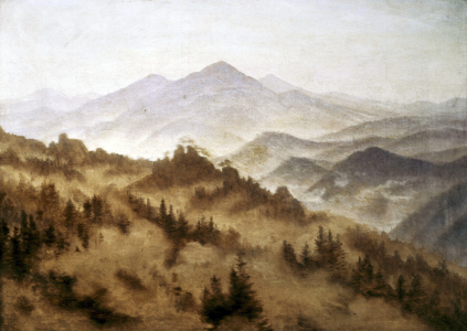 Picture no: 30001606 Friedrich /Mountainous landscape /c.1835 Created by: Friedrich, Caspar David