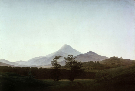 Picture no: 30001610 Friedrich / Bohemian landscape / c.1810 Created by: Friedrich, Caspar David