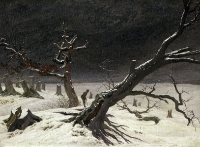 Picture no: 30001612 C.D.Friedrich, Winter Landscape 1811 Created by: Feuerbach, Anselm
