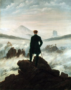 Picture no: 30001616 C.D.Friedrich / Wayfarer / c.1818 Created by: Friedrich, Caspar David
