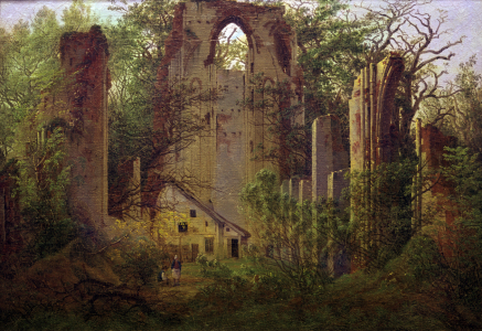 Picture no: 30001620 Friedrich / Abbey ruin Eldena / c.1824 Created by: Friedrich, Caspar David