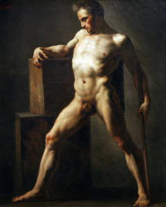 Picture no: 30001658 Th.Géricault / Nude study of a man Created by: Géricault, Théodore