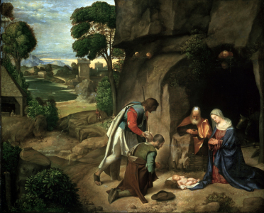 Picture no: 30001668 Giorgione / Adoration of the Shepherds Created by: Giorgione (Giorgio da Castelfranco | Barbarelli)
