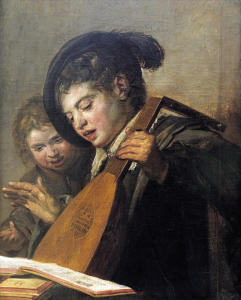 Picture no: 30001686 F.Hals / Singing Boys / Ptg./ c.1623/25 Created by: Hals, Frans
