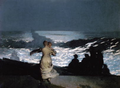 Picture no: 30001694 Winslow Homer / Summer Night / 1890 Created by: Homer, Winslow