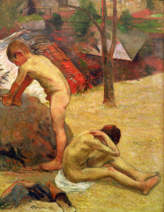 Picture no: 30001722 P.Gauguin, Bathing Breton Boys / 1888 Created by: Gauguin, Paul