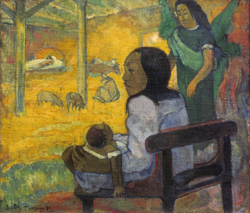 Picture no: 30001726 Gauguin, Tahitian Christmas Created by: Gauguin, Paul