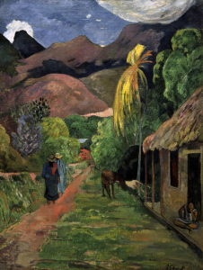 Picture no: 30001742 Gauguin / Road into the mountains / 1891 Created by: Gauguin, Paul