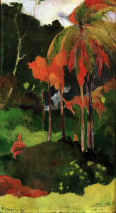 Picture no: 30001744 Gauguin / Mahana maa I / 1892 Created by: Gauguin, Paul