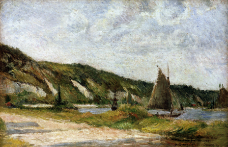Picture no: 30001748 P.Gauguin / Sailing Boat / 1884 Created by: Gauguin, Paul