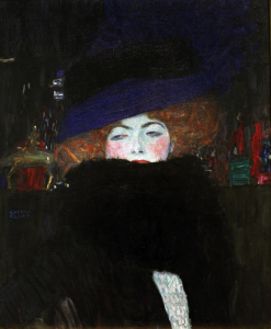 Picture no: 30001770 Klimt / Woman w.Hat a.Featherboa / 1909 Created by: Klimt, Gustav