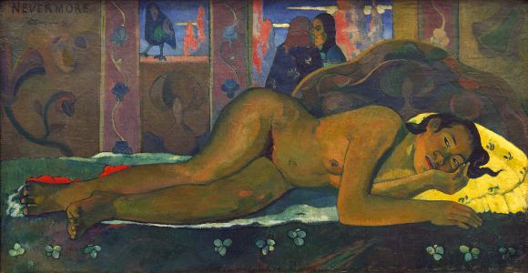 Picture no: 30001784 Gauguin / Nevermore / 1897 Created by: Gauguin, Paul