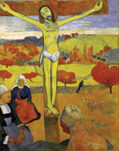 Picture no: 30001786 Paul Gauguin, Der gelbe Christus Created by: Gauguin, Paul