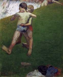 Picture no: 30001796 P.Gauguin, Young Wrestlers Created by: Gauguin, Paul
