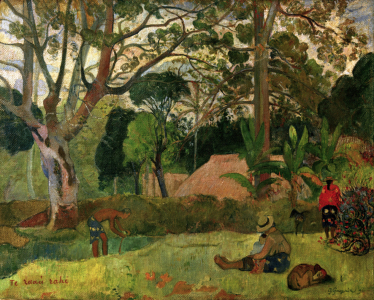 Picture no: 30001798 P. Gauguin,Te raau rahi (Der gro~e Baum) Created by: Gauguin, Paul