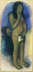Picture no: 30001812 P.Gauguin/Studie zu:Parau na te varua... Created by: Gauguin, Paul